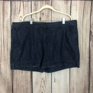 Gap Denim Jean Shorte Size 18